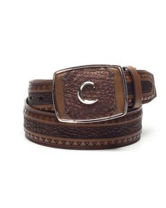 Cuadra Shark Belt CVQJ4TI Honey