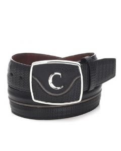 Cuadra Men's Urban Belt CV414RS Black